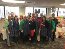 Representative Bob and his wife Dianne with the other volunteers for the Children's Hospital.